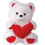 """Мягкая игрушка """"Медведь с сердцем"""", СмолТойс"""