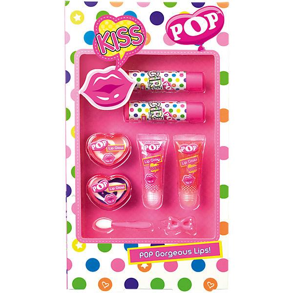 """Игровой набор детской декоративной косметики """"POP"""" для губ"""