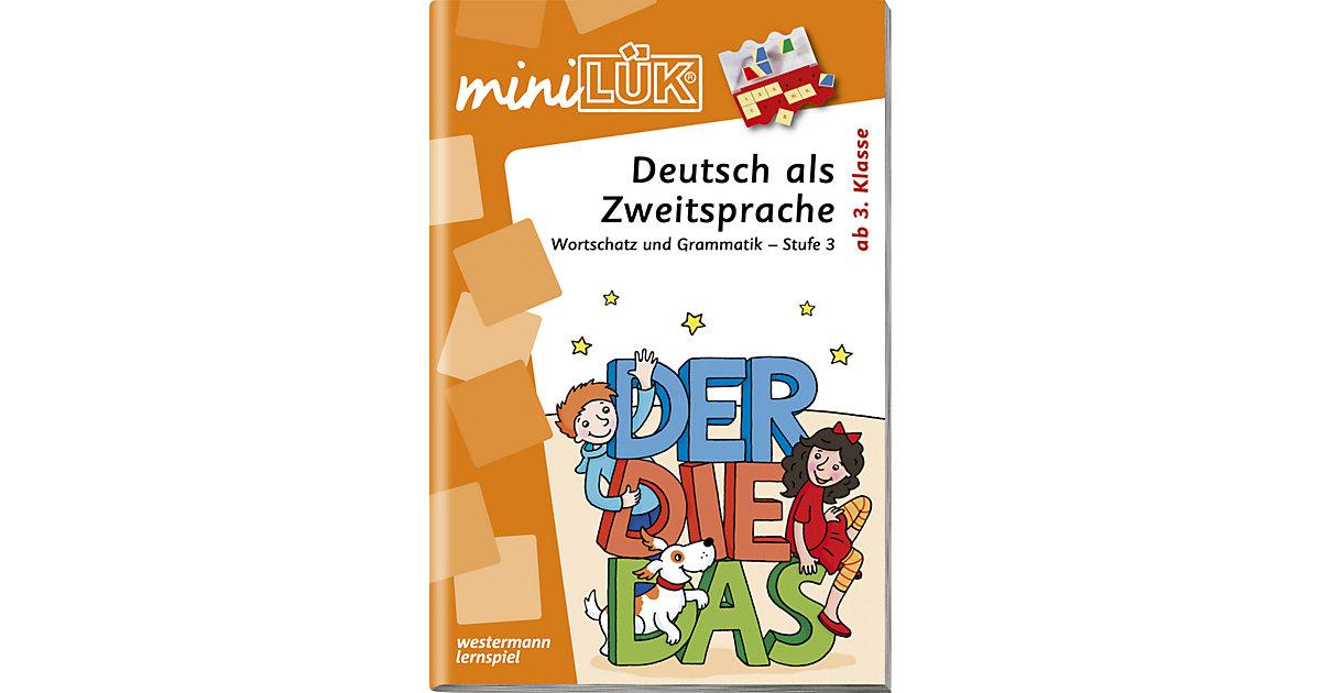 Buch - mini LÜK: Deutsch als Zweitsprache ab 1. Klasse, Übungsheft