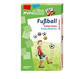 mini LÜK-Set: Fußball: Erstes Lesen / Erstes Rechnen, Übungshefte und miniLÜK Kontrollgerät