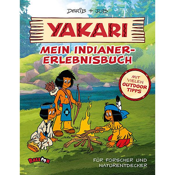 yakari  mein indianererlebnisbuch, derib job  mytoys ~ Geschirr Yakari