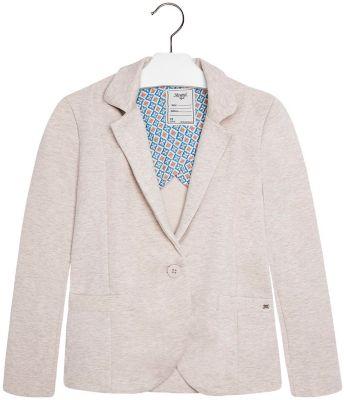 Пиджак для девочки Mayoral - бежевый