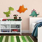 Wandsticker 3D  Dinosaurier, 3-tlg.