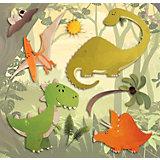 Wandsticker 3D Dinosaurier, 8-tlg.