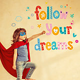 Wandsticker follow your dreams