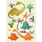 Wandsticker Dinosaurier, 13-tlg.