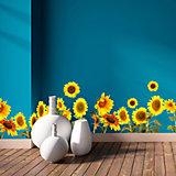Bordüre Sonnenblumen, selbstklebend, 200 x 30 cm