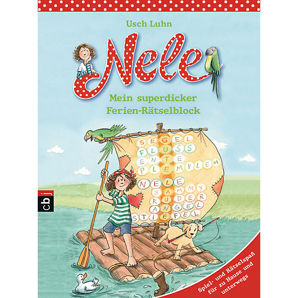 Nele - Mein superdicker Ferien-Rätselblock