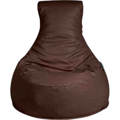 Outdoor-Sitzsack Slope, Skin, chestnut