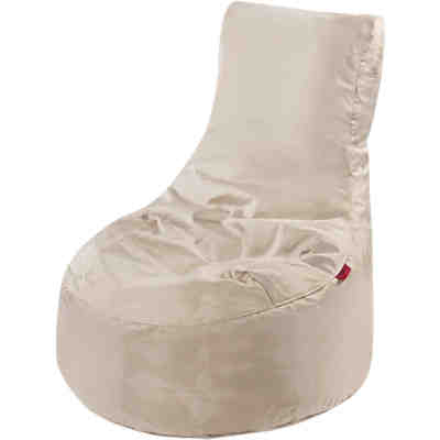 Outdoor-Sitzsack Slope XL, Fabric, latte