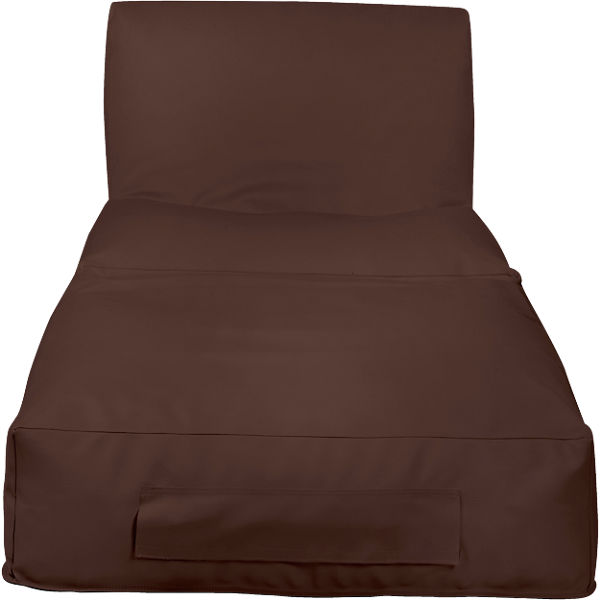 Outdoor-Sitzsack Peak, Skin, chestnut