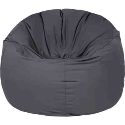 Outdoor-Sitzsack Donut, Plus, anthrazit