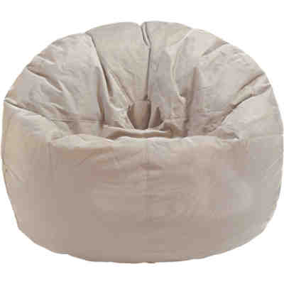 Outdoor-Sitzsack Donut, Fabric, latte