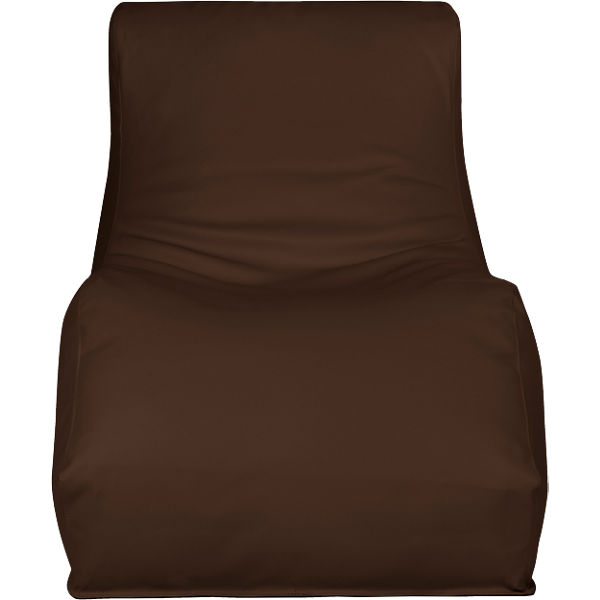 Outdoor-Sitzsack Wave, Skin, chestnut