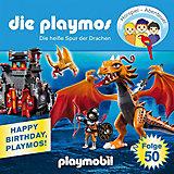 CD Die Playmos 50 - Die heiße Spur der Drachen