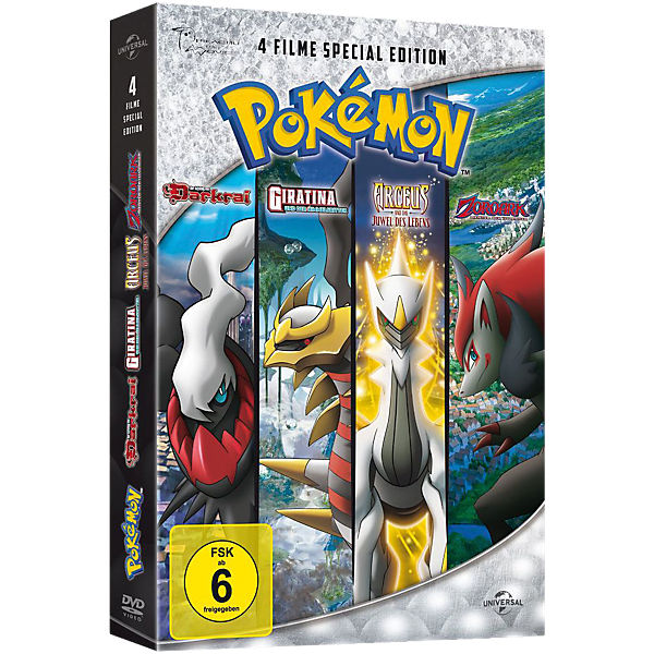 DVD Pokemon Vol. 10-13