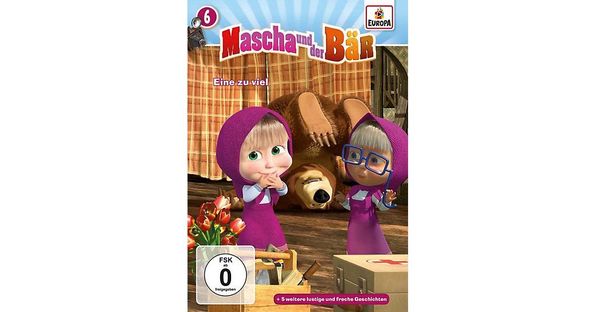 DVD Mascha und der Bär 06 - Eine zu viel