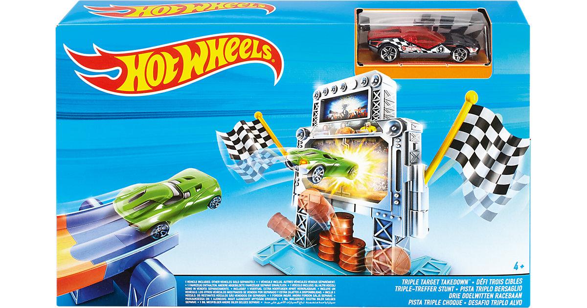 Hot Wheels Triple-Treffer Stunt