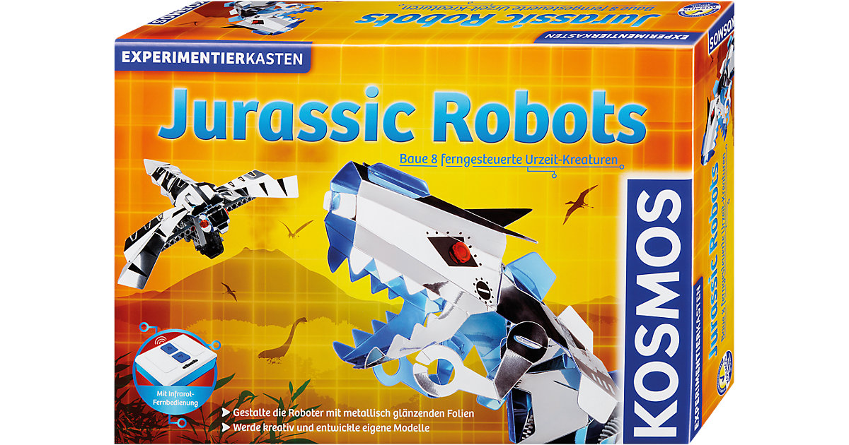 Experimentierkasten Jurassic Robots