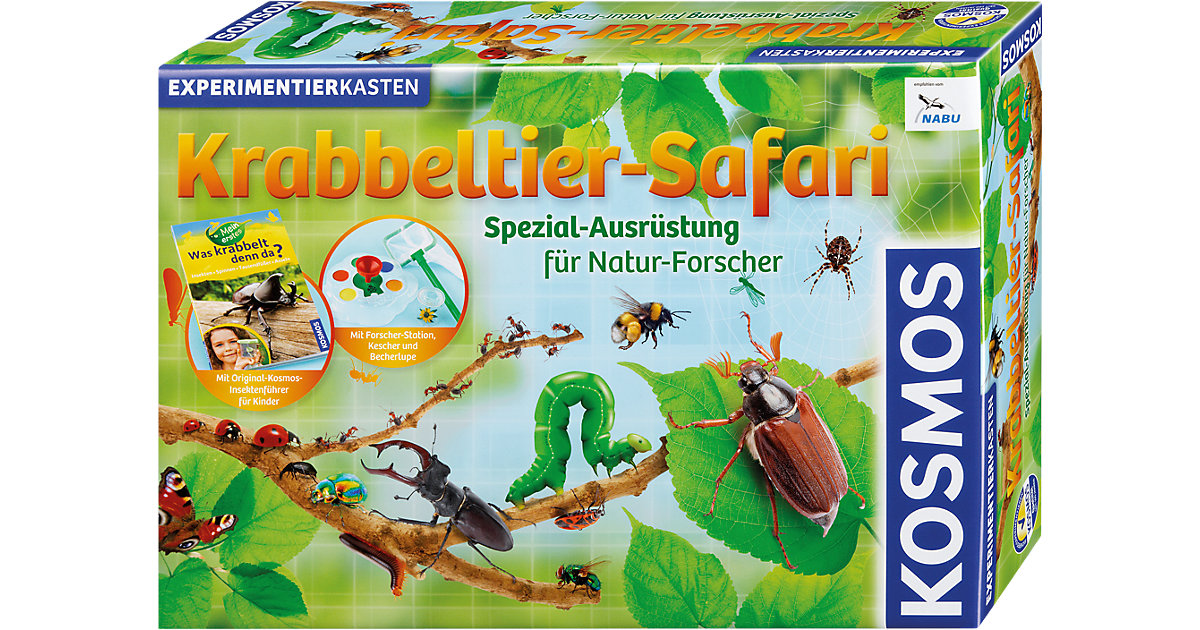 Experimentierkasten Krabbeltier-Safari