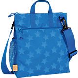 Wickeltasche Casual, Buggy Bag, Reflective, Star blue