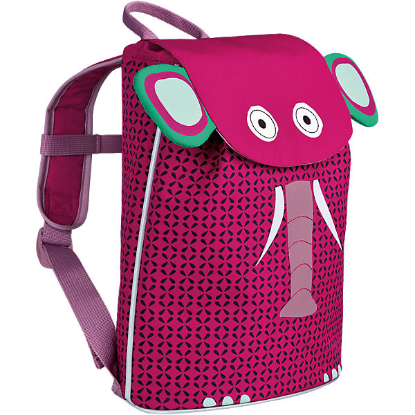 Kindergarten Rucksack Mini Duffle Backpack 4kids, Wildlife Elephant
