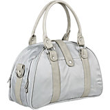 Wickeltasche Glam Shoulder Bag, Light grey