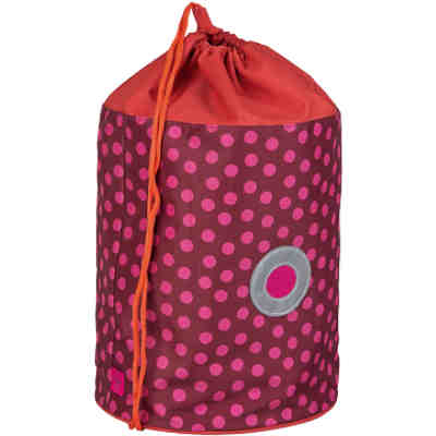 Sportbeutel School Sportsbag, Dottie red