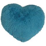 "Голубая подушка ""Сердце"" 30*35 см"