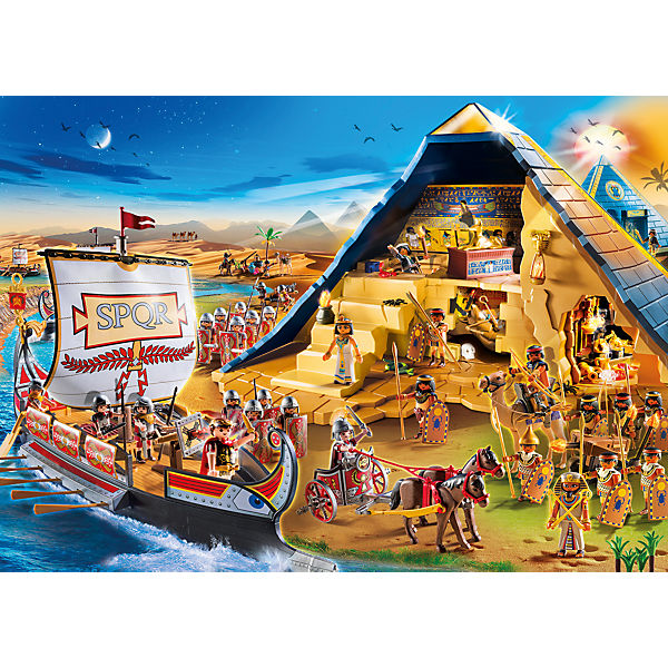 playmobil 5386 pyramide des pharao playmobil history mytoys. Black Bedroom Furniture Sets. Home Design Ideas
