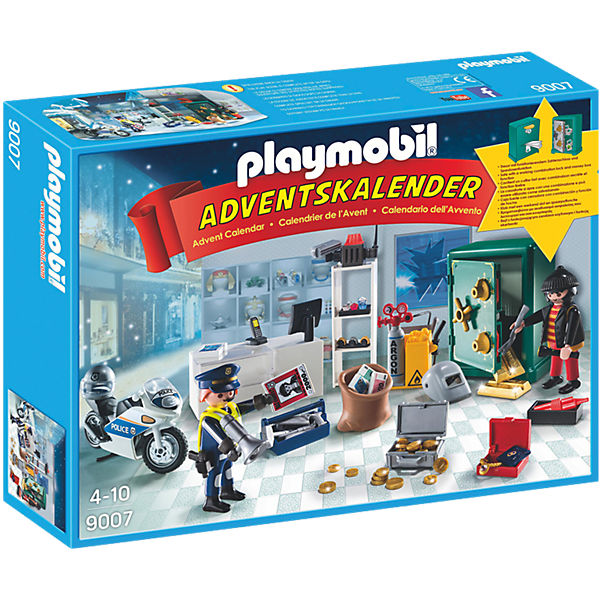 playmobil 9007 adventskalender polizeieinsatz im. Black Bedroom Furniture Sets. Home Design Ideas