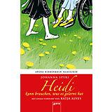 Arena Kinderbuch-Klassiker: Heidi kann brauchen, was es gelernt hat