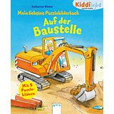 Mein Kiddilight Puzzlebilderbuch: Auf der Baustelle