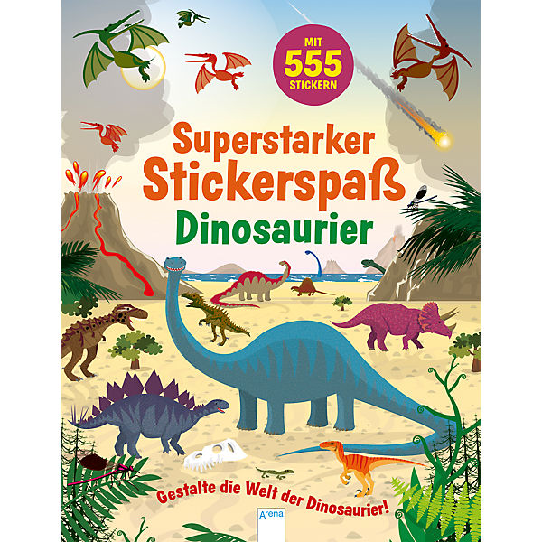 Superstarker Stickerspaß: Dinosaurier