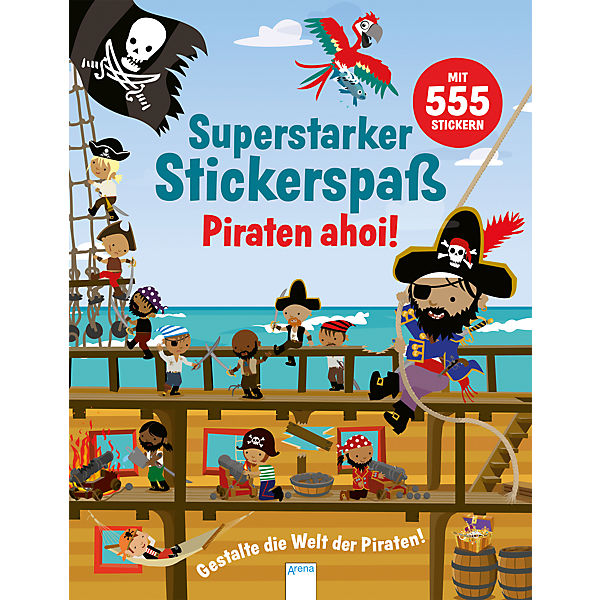 Superstarker Stickerspaß: Piraten ahoi!