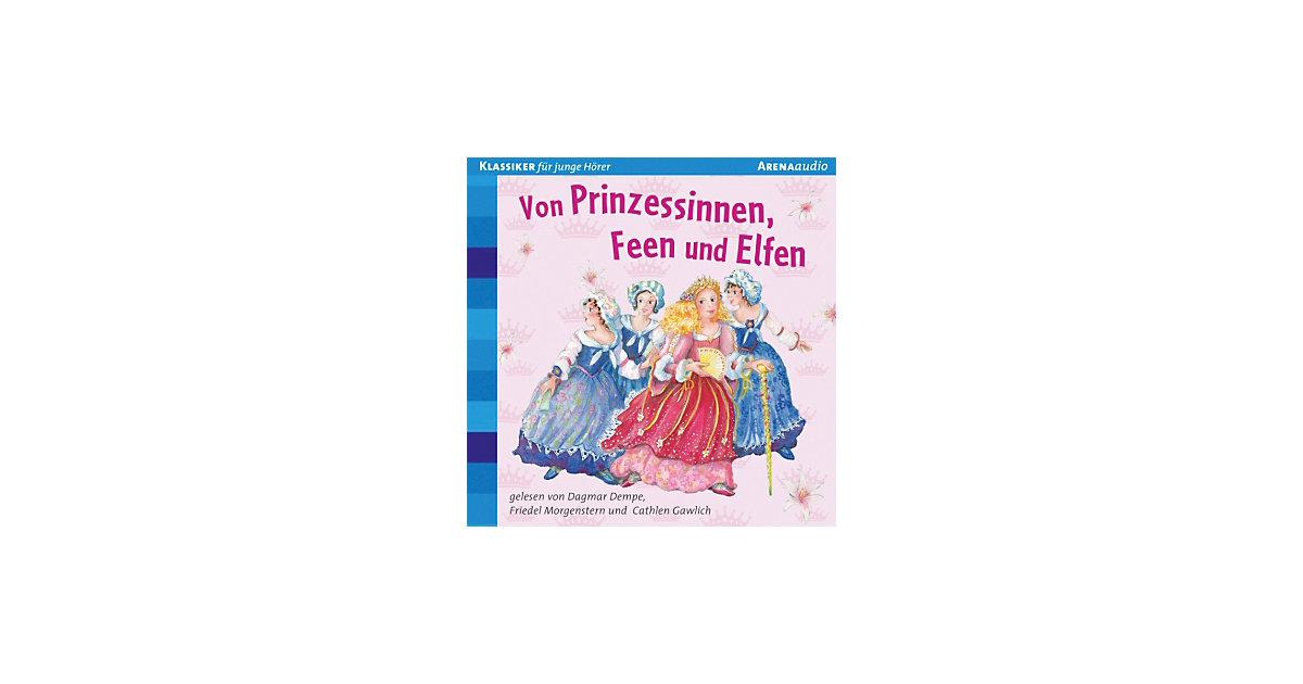 Von Prinzessinnen, Feen und Elfen, 1 Audio-CD Hörbuch