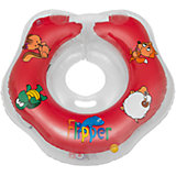 Круг на шею Flipper FL001 для купания малышей 0+, Roxy-Kids, красный
