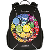Schulrucksack be.bag airgo SmileyWorld Rainbow