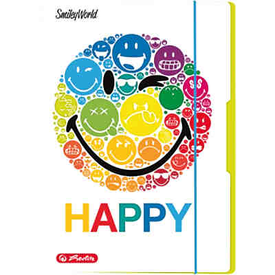 Sammelmappe A3 Smiley World Rainbow