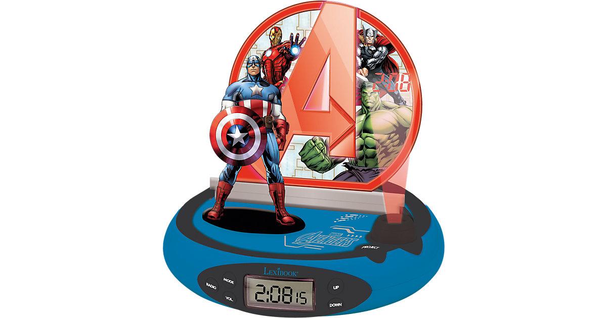 Marvel Avenger Radiowecker mit Projektion und Nachtlicht