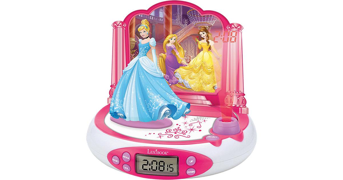 Disney Princess Radiowecker mit Projektion und Nachtlicht