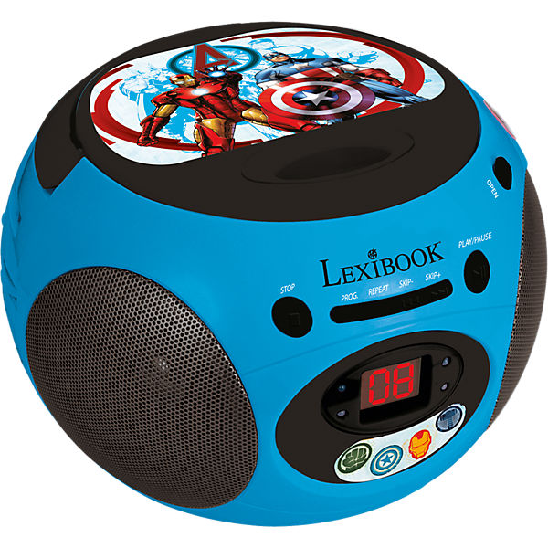 Marvel Avengers CD-Player mit Radio