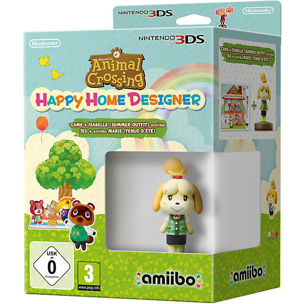 3DS Animal Crossing: Happy Home Designer + amiibo