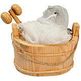 """Набор для ванной и бани """"Морозное утро"""" (3 предмета)"""