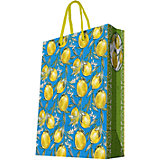 """Подарочный пакет """"Лимоны"""" 26*32,4*12,7 см"""