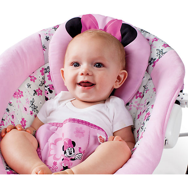 wippe bouncer minnie mouse minnie garden delights disney minnie mouse mytoys. Black Bedroom Furniture Sets. Home Design Ideas