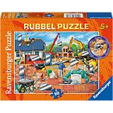 Rubbelpuzzle Spaß auf der Baustelle 80 Teile