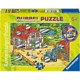 Rubbelpuzzle Spaß auf dem Bauernhof 80 Teile