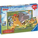 Puzzle Garde der Löwen: Abenteuer in der Savanne 2 x 24 Teile
