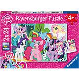 Puzzleset My Little Pony: Liebe Ponys 2 x 24 Teile